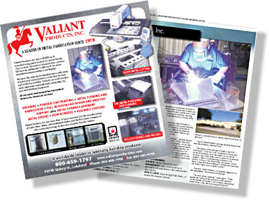 Valiant Products, Inc. Featured in Progress In Polk